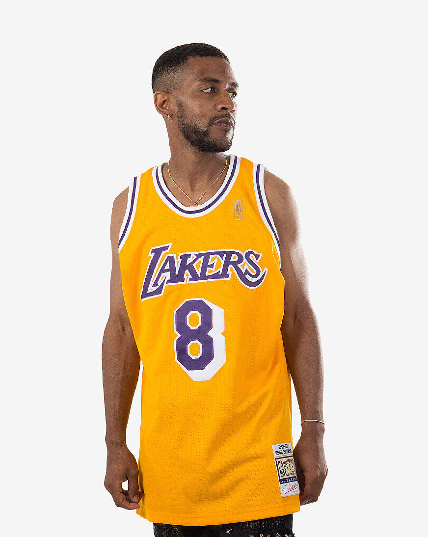 Mitchell Ness Los Angeles Lakers Kobe Bryant 1996-1997 Home ...