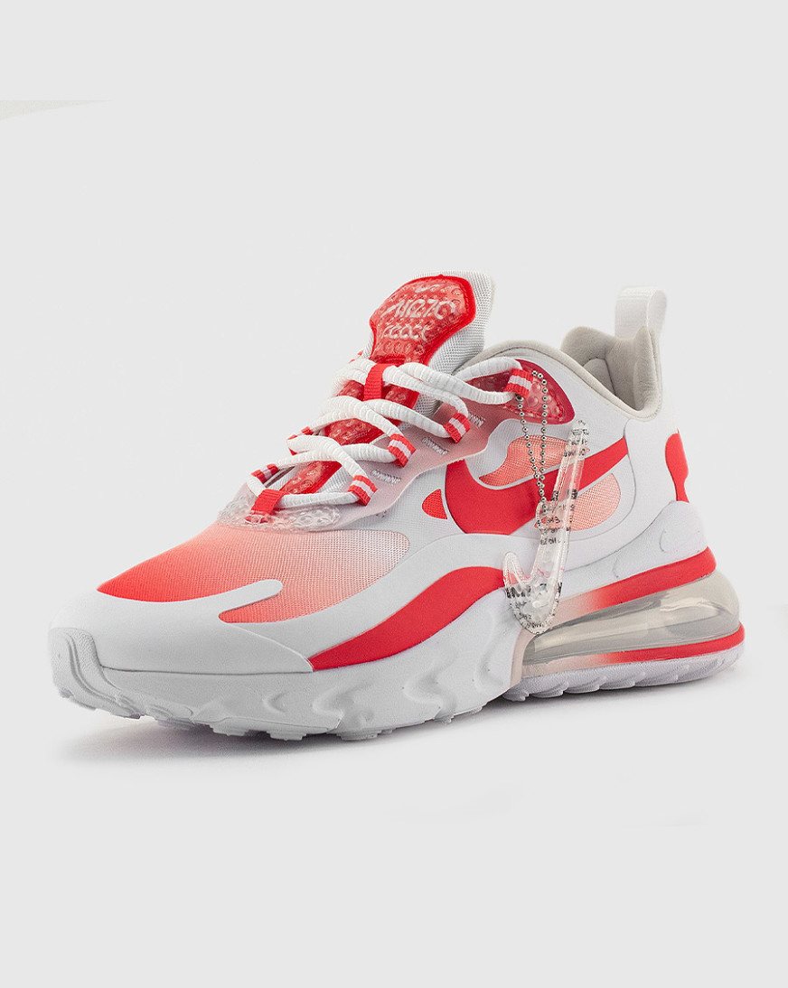 nike air max 270 womens white and red