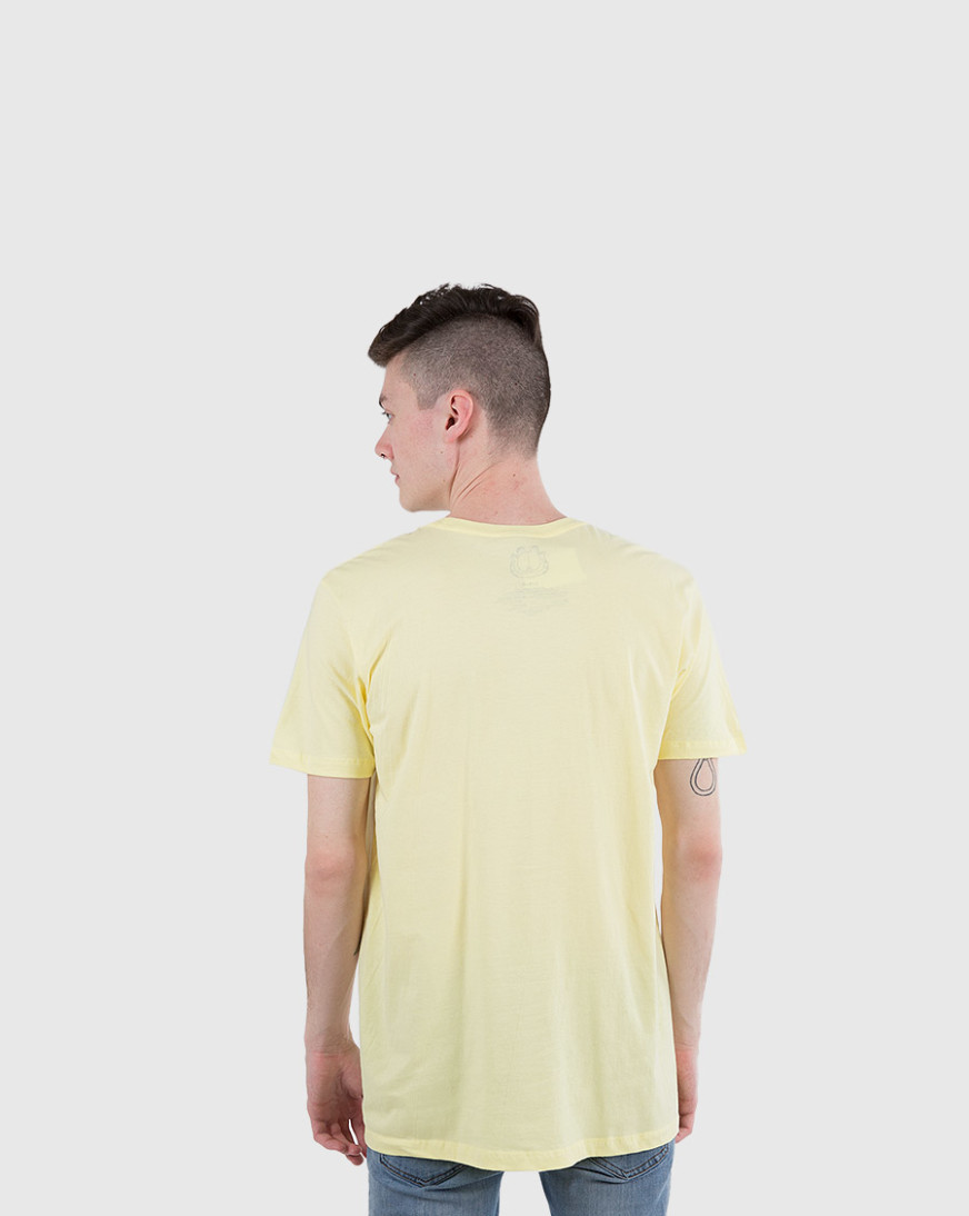 Official Licensed HAVE A NICE DAY Men/'s Yellow Shirt Large GARFIELD * New